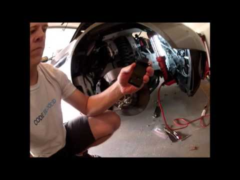 Replacing the MAF Sensors on an Aston Martin V8 Vantage