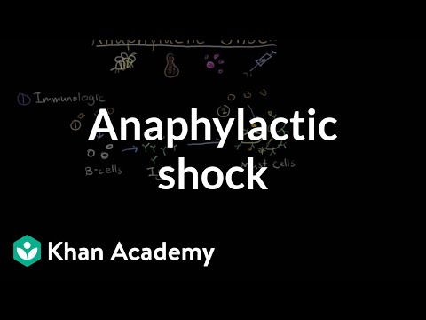Anaphylactic shock | Circulatory System and Disease | NCLEX-RN | Khan Academy
