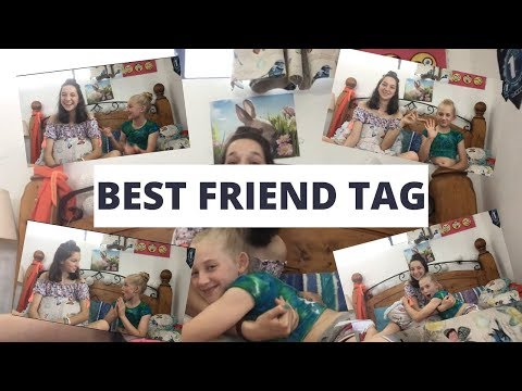 Best Friend Tag with Kiralee | Hallee Nicole