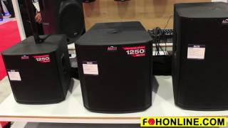 Truesonic Subwoofers from Alto Professional Audio