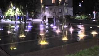 Opera Theater Fountain by Crystal Fountains - Ruse, Bulgaria