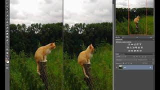 деформация объекта в фотошоп cs6