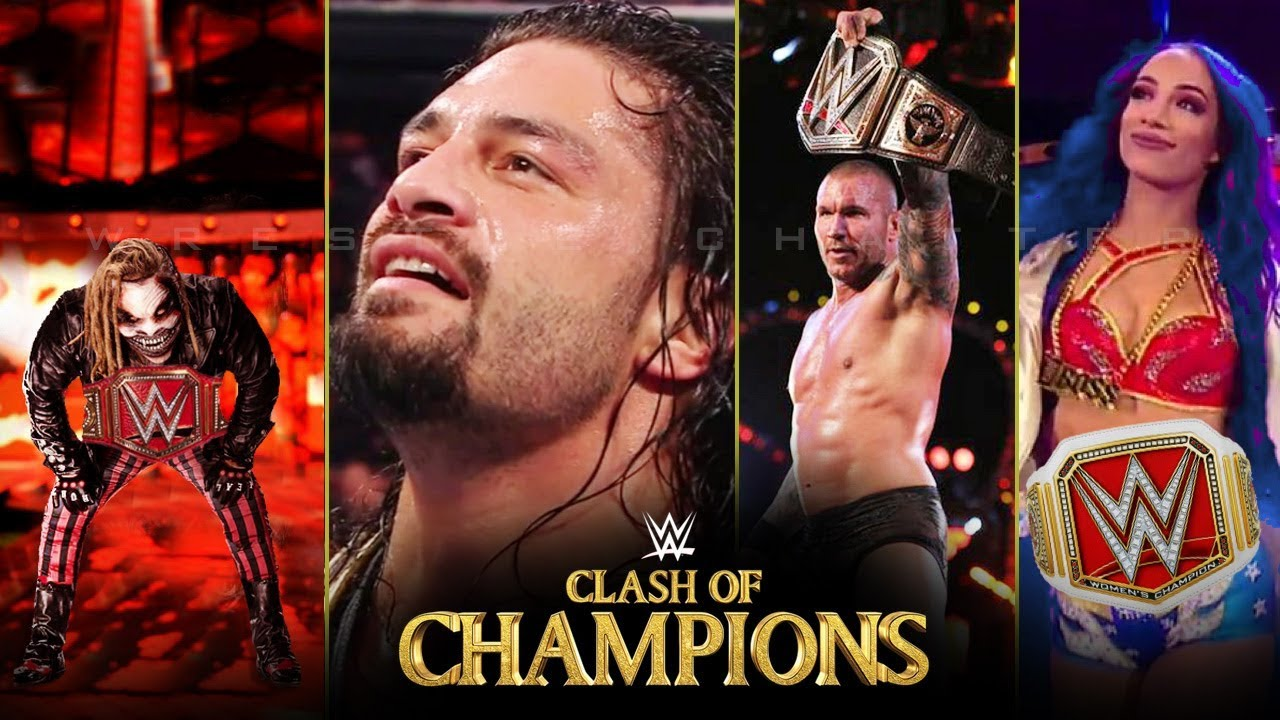 WWE Clash of Champions 2019 Live Results: How Many Titles Will Seth Rollins Have By Show's End?