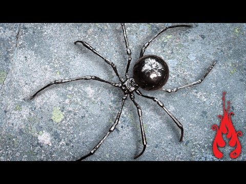 Blacksmithing - Making the mega spider