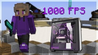 bedwars with 1000 FPS