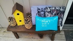 Diy Duct Tape & T-Shirt Pillows