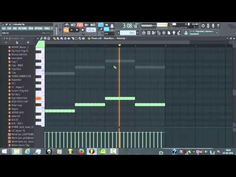 Hardwell - Follow Me feat.Jason Derulo ( Fl Studio 12 #DropRemake ) + FLP