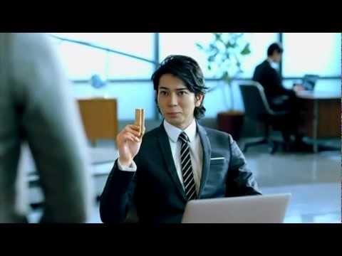 松本潤 クリスピーズ CM スチル画像。CM動画を再生できます。