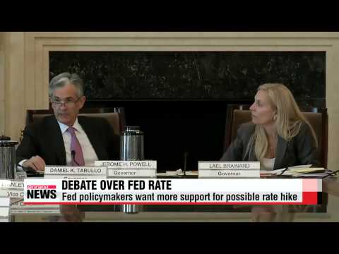 U.S. Fed not decided on when rate hike should come   미 연준 ″금리인상 여건 근접했지만 아직