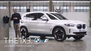 Designed for efficiency. The first-ever BMW iX3.