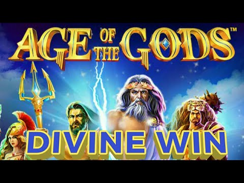 Age Of The Gods Saves Me Again. DIVINE WIN! 💲