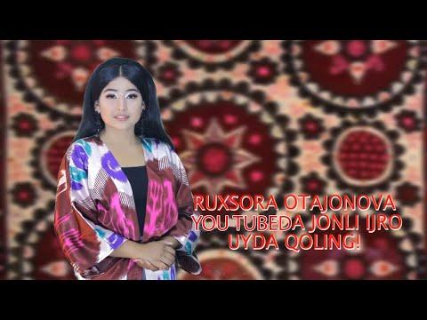 Ruxsora Otajonova - Jonli ijro | Рухсора Отажонова - Жонли ижро #Uydaqoling