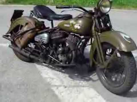 39 43 wlc harley davidson flathead 45 youtube. Black Bedroom Furniture Sets. Home Design Ideas