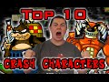 Top 10 Crash Bandicoot Characters - Square Eyed Jak
