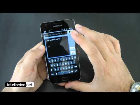 Samsung Galaxy S2 i9100 videoreview da Telefonino.net