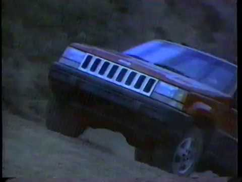 1993 Jeep Grand Cherokee TV Commercial