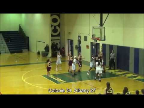 Game Highlights Girls' Varsity: Colonie 55 vs Albany 42 (F)