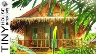 Build The Most Beautiful Jungle Bamboo House Villa In Bali
