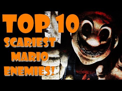 Top 10 SCARIEST Mario Enemies!