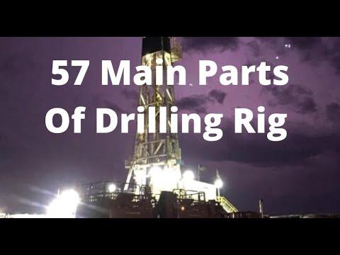 57 Main Parts Of Drilling Rig?