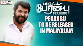 Mammootty's Peranbu Tamil Movie To Be Released In Malayalam - Filmyfocus.com