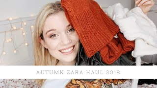 Autumn Zara haul with try on - 2018