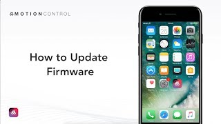 How to Update BTS Pro Firmware via MotionControl?