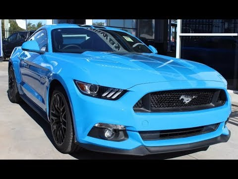 2017 Ford Mustang Gt Fm Auto Fastback Automatic In Grabber Blue
