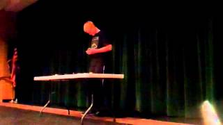 Ty Petty - Payson Jr. High Talent Show 2015 #1