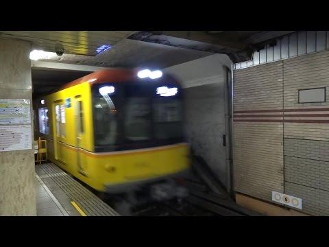 東京メトロ1000系浅草行き発着/Tokyo Metro 1000 Series/2014.07.17
