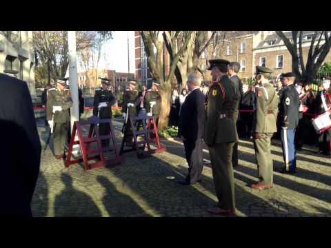 JFK ceremony at US Embassy in Dublin