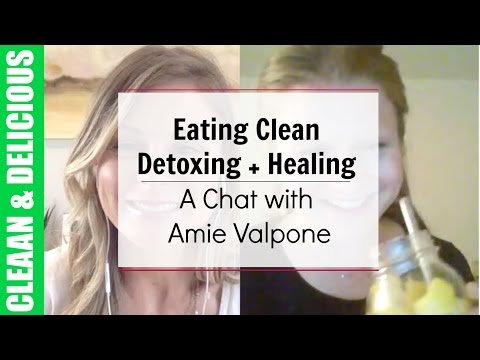 Weight Loss + Health Tips: Eating Clean, Detoxing, + Healing | A Chat with Amie Valpone
