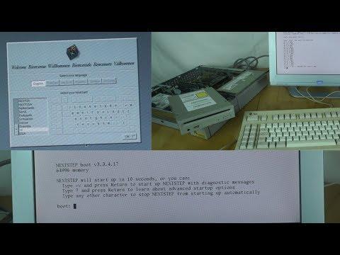 Installing NeXTSTEP on my Sun SPARCserver 5