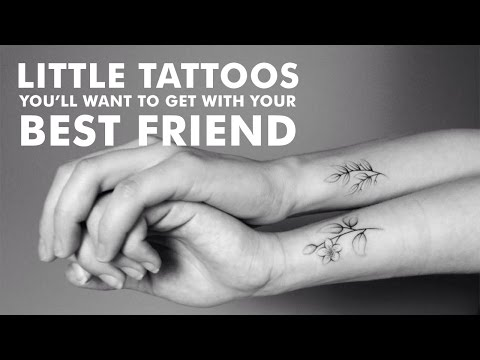 Little Tattoos You'll Want to Get With Your Best Friend