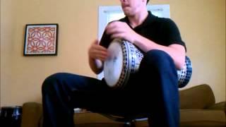 Darbuka 9/8 rhythm (karsilama/kiuchek)