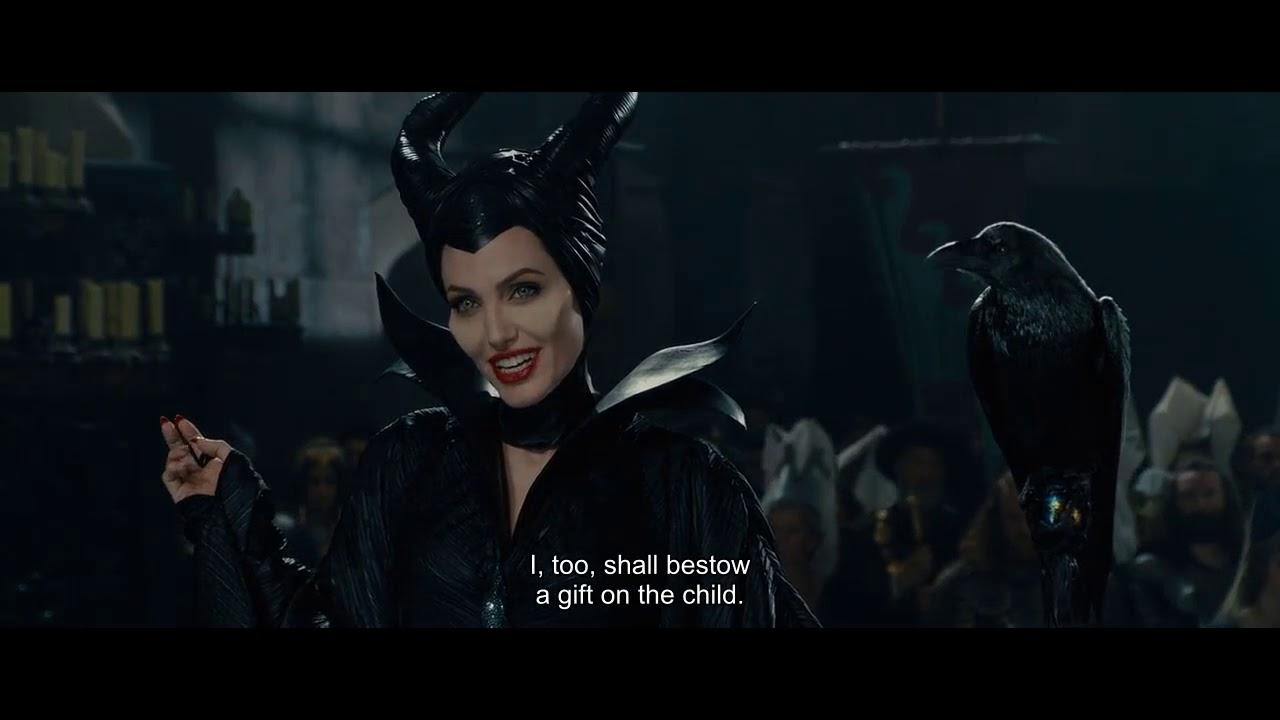 Maleficent 2014 Full English Subtitles Maleficent S Curse Scene