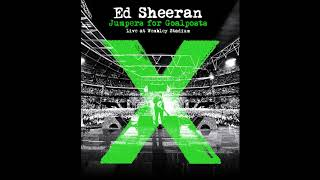 ed sheeran afire love ft elton john live from wembleyjumpers for goalposts