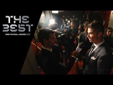 Cristiano Ronaldo interview - The Best FIFA Men's Player 2017 (ENGLISH)