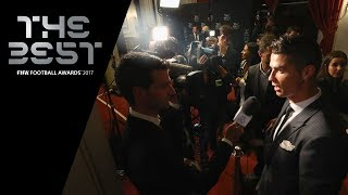 Cristiano Ronaldo interview - The Best FIFA Men's Player 2017 (ENGLISH)