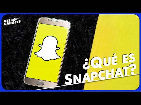 Te Decimos Qué Es Snapchat Y Cómo Funciona.  Como Usar Snapchat. La Historia Del  Filtro De Bebe.