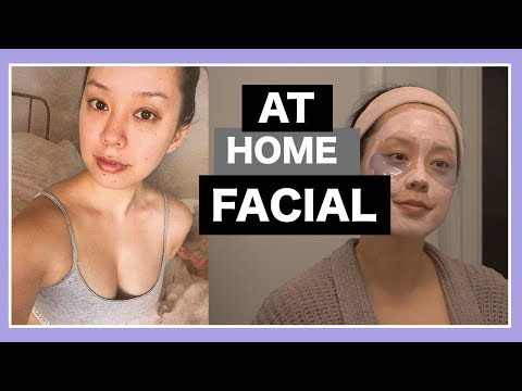 HOW TO DO AN AT HOME FACIAL  SEREIN WU