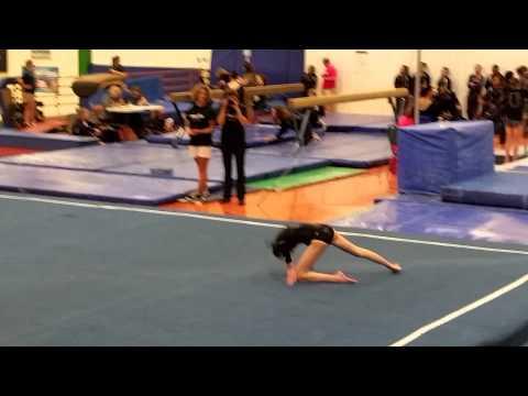 Sam's Floor at Overland High School gymnastics