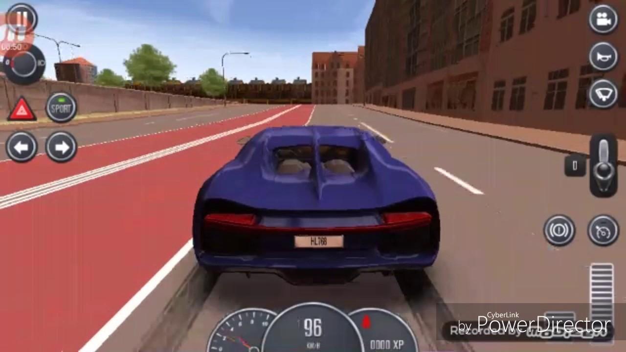 mclaren bugatti lamborghini les 3 voiture plus rapide du jeux driving school 20017