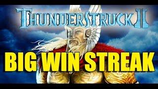 Online Casino 15 euro bet HUGE WIN STREAK - Thunderstruck 2 BIG WIN STREAK no epic reactions :D