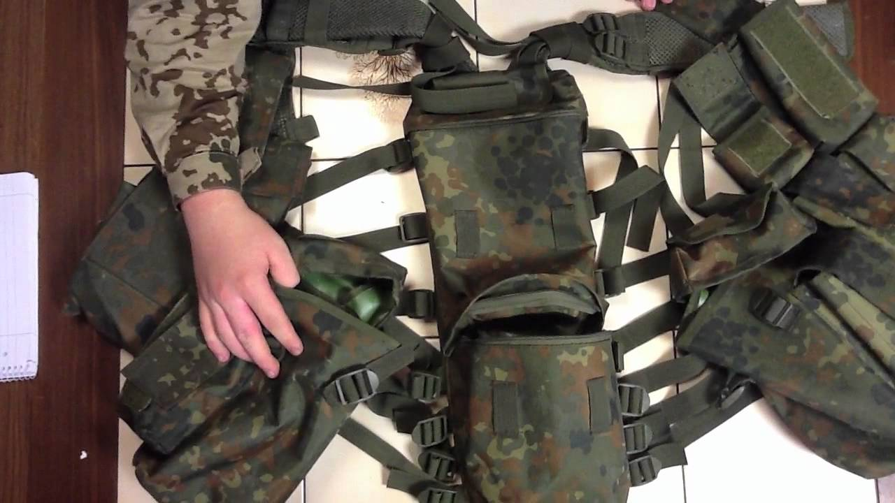 mfh tactical  MFH Tactical Weste Review [HD] - YouTube