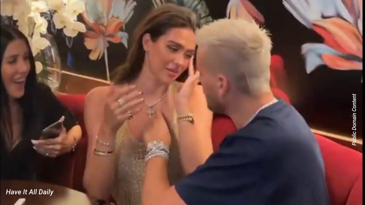 Scott Disick Made Girlfriend Amelia Hamlin Cry On Her 20th Birthday