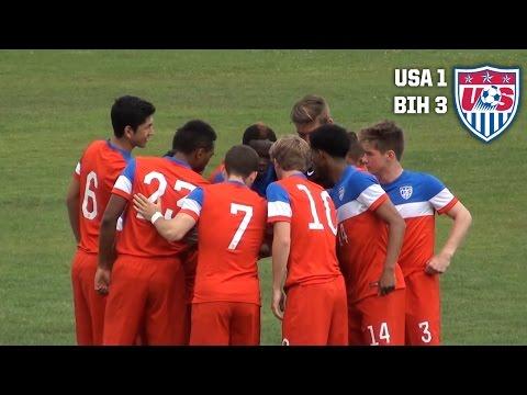 U-18 MNT vs. Bosnia & Herzegovina: Highlights - April 28, 2015