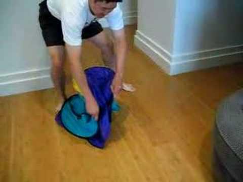 Playhut folding instructions. Youtube.