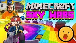 НЕЧОВЕШКИ MINECRAFT SKY WARS с Dido_D | Queen's Game Zone №3
