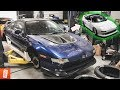 Turning a $500 Toyota MR2 into a $20,000 Toyota MR2! (Part 1) + Stancewars Seattle 2019